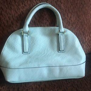 Merona turquoise handbag